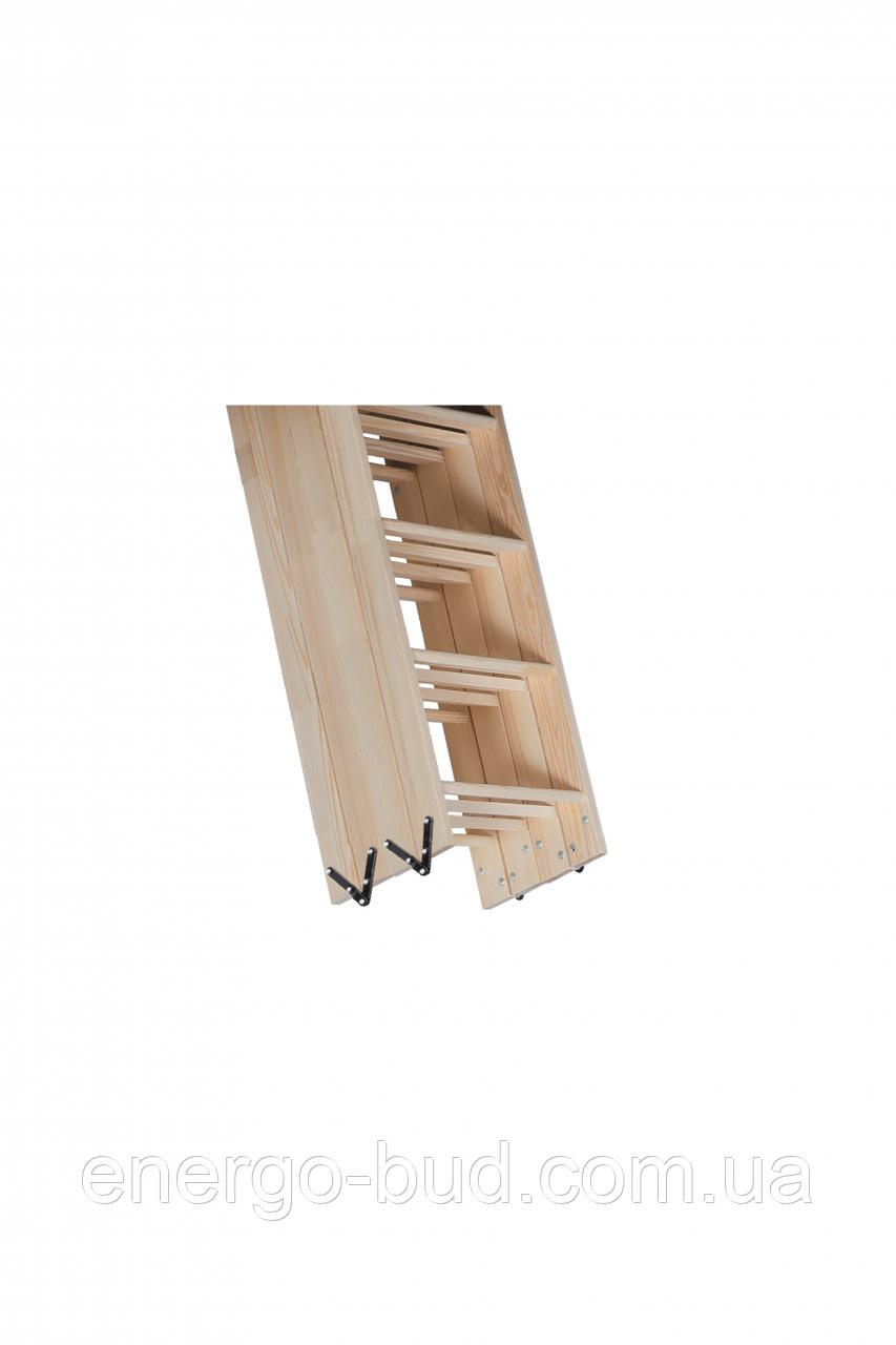 Чотири дерев'яна яні секції OMAN з металевими завісами PSS D-1 TDSS10077 (Н-330)