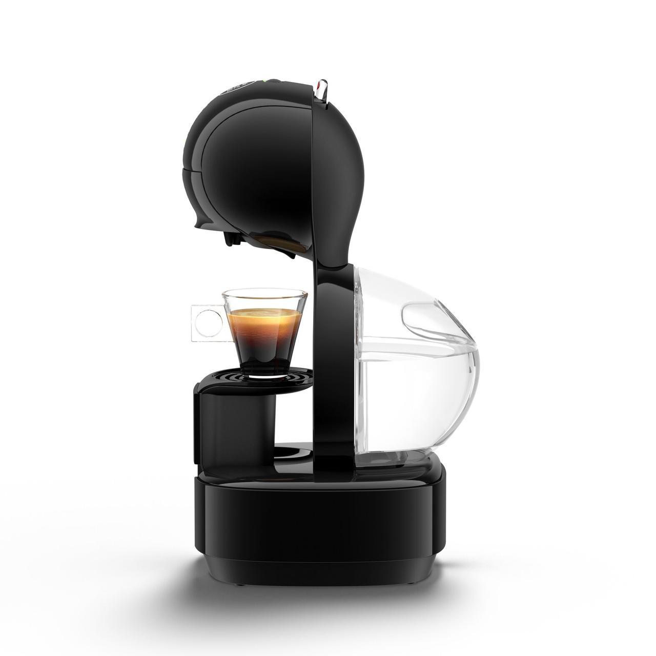 Капсульная кофеварка Krups Dolce Gusto LUMIO Black KP1308