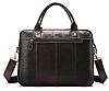 Сумка-портфель мужская из кожи Vintage 20004 Коричневая, фото 2