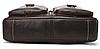 Сумка-портфель мужская из кожи Vintage 20004 Коричневая, фото 4