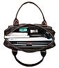 Сумка-портфель мужская из кожи Vintage 20004 Коричневая, фото 6
