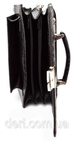 Барсетка SHVIGEL 00385 Чорна, Чорний, фото 2