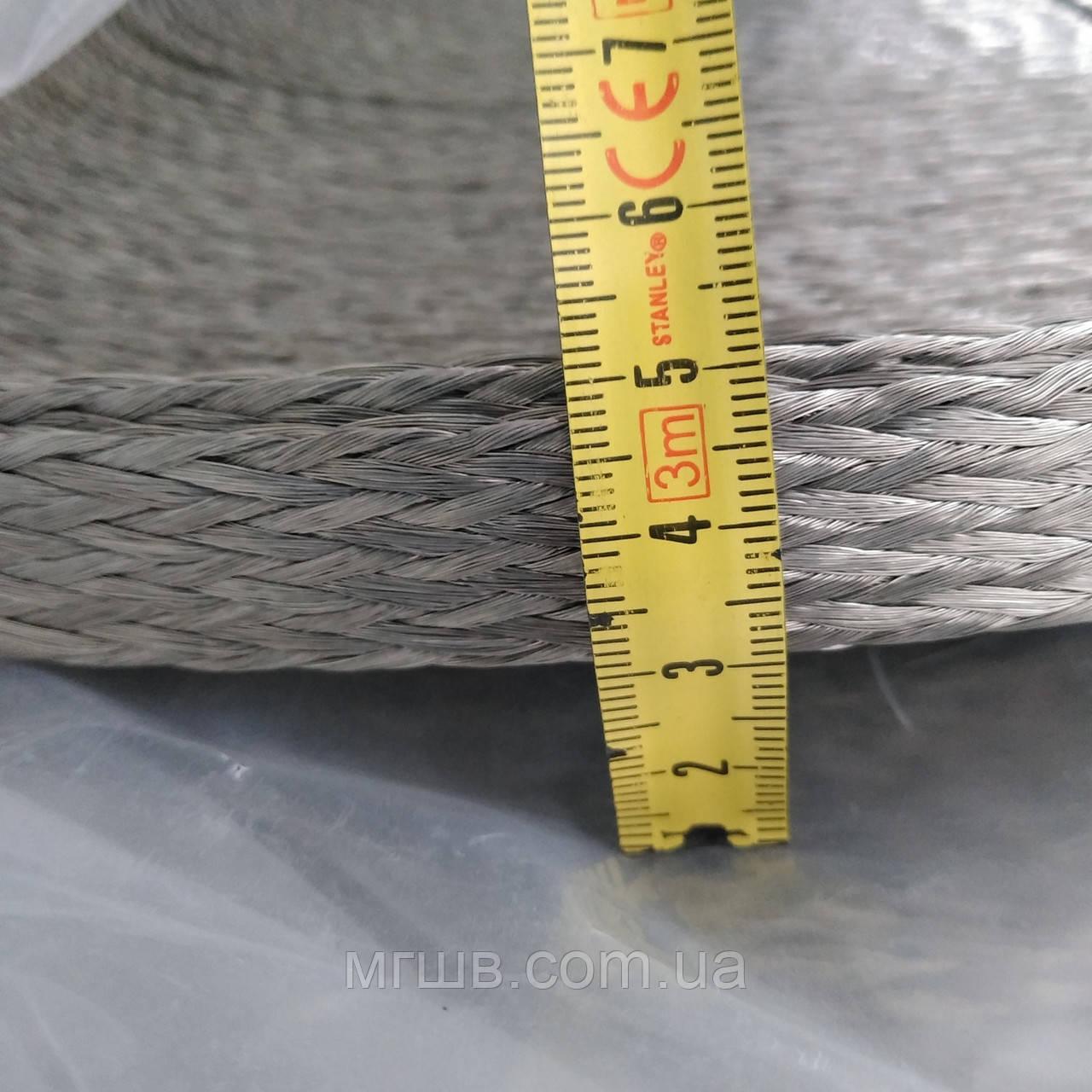 АМГЛ 25 провод неизолированный гибкий плетеный плетёнка медная луженная гибкая шина 25 мм АМГ