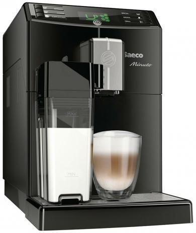 Кофемашина Philips Saeco Minuto One Touch Cappuccino (HD 8763/01)