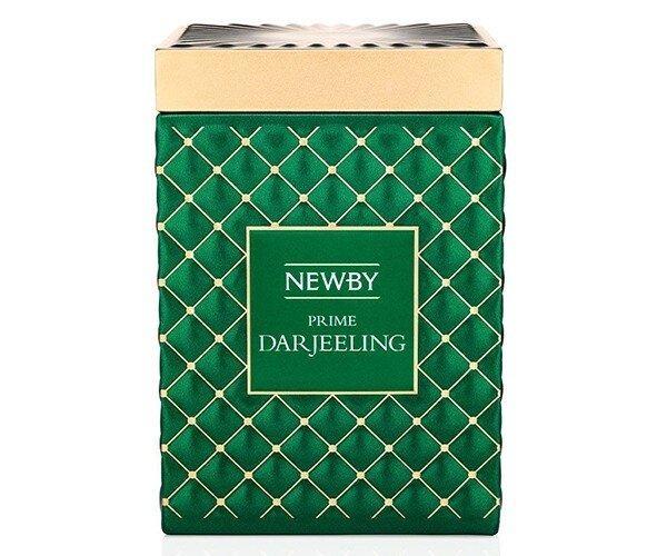 Черный чай Newby Gourmet Prime Darjeeling ж/б 100 г