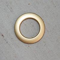 Люверсы эконом золото матовое 25 мм