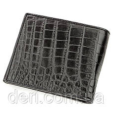 Ексклюзивний гаманець чоловічий з натуральної шкіри крокодила CROCODILE LEATHER, фото 2