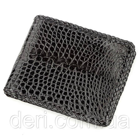 Крутий гаманець чоловічий з натуральної шкіри крокодила, фото 2