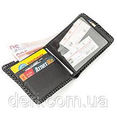 Крутой бумажник мужской из натуральной кожи крокодила, фото 3