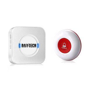 Кнопка виклику медсестри бездротова Daytech CC01 - 150M Біла (100070)