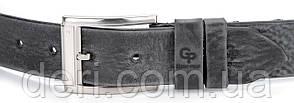 Ремень мужской GRANDE PELLE 00863 джинсовый Серый, Серый, фото 2