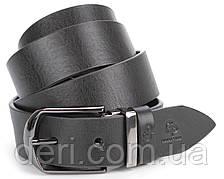 Ремень мужской GRANDE PELLE 00870 кожаный Черный, Черный