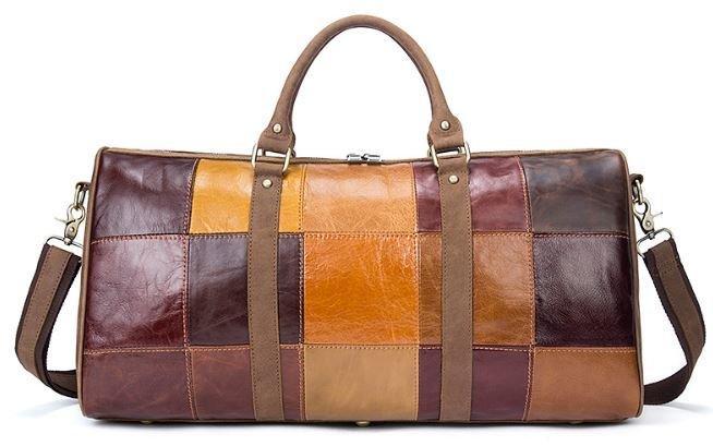 Дорожня сумка Crazy 14779 Vintage Різнокольорова