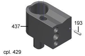 1T310107 Болт каппучинатору Е (пластмасса) (560.0004.849)