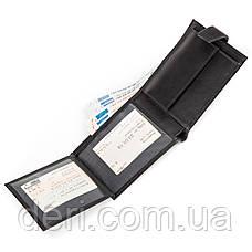 Кошелек мужской CANPELLINI 17035 кожаный Черный, Черный, фото 2