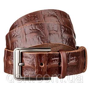 Ремень мужской SHVIGEL 15269 кожаный Коричневый, Коричневый, фото 2