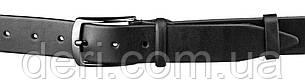 Ремень мужской SHVIGEL15268 кожаный Черный, Черный, фото 2