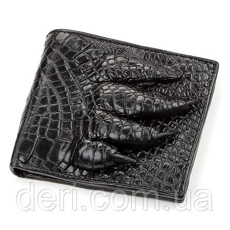 Гаманець чоловічий з натуральної шкіри крокодила CROCODILE LEATHER, фото 2
