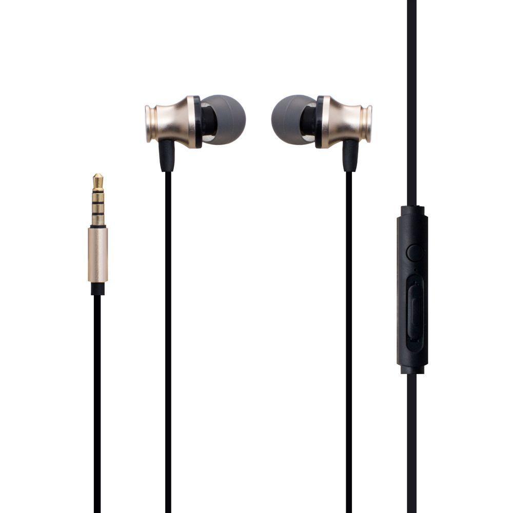 Наушники проводные XO S20 с микрофоном и кнопкой приема вызова