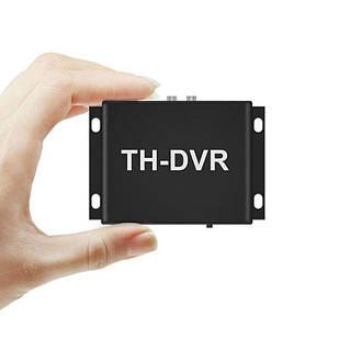 Відеореєстратор на 1 камеру AHD CVBS до 2 Мп Pegatan TH-DVR з пультом ДУ (100585)