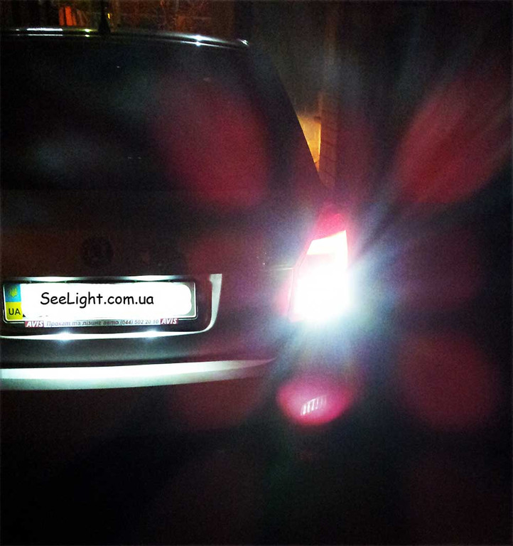 Светодиодные лампы в задний ход Skoda Fabia
