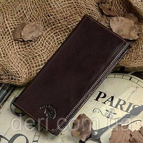Гаманець чоловічий Vintage 14175 Коричневий, Коричневий, фото 2