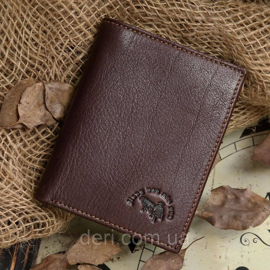 Кошелек мужской Vintage 14177 Коричневый, Коричневый