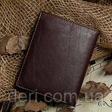 Кошелек мужской Vintage 14177 Коричневый, Коричневый, фото 2