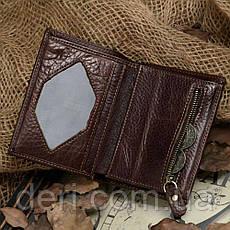 Кошелек мужской Vintage 14177 Коричневый, Коричневый, фото 3