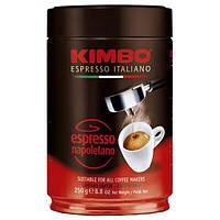 Кава мелена KIMBO ESPRESSO NAPOLETANO ж/б 0,25 кг