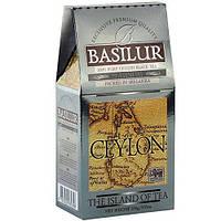 Черный чай Basilur Платинум коллекция Чайный остров Цейлон картон 100г