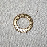 Люверсы афины золото матовое 35мм