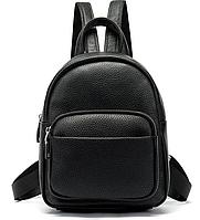 Компактний Рюкзак жіночий Vintage 20053 Чорний, фото 1