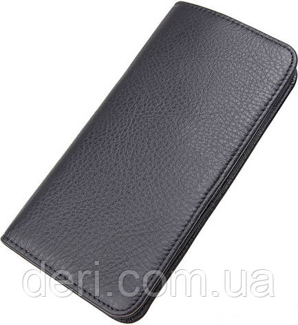 Кошелек мужской Vintage 14463 Черный, Черный, фото 2