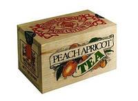 Чорний чай Персик-абрикос Млесна д/до 100 г