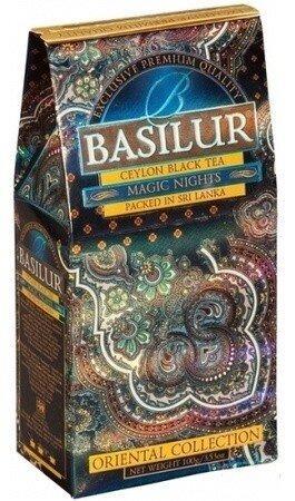 Чорний чай Basilur Магія ночі картон 100 г