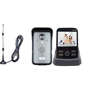 Бездротовий відеодомофон з датчиком руху Kivos KDB302A (100444)
