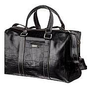Деловая мужская дорожная сумка флотар KARYA 17386 Черная, Черный