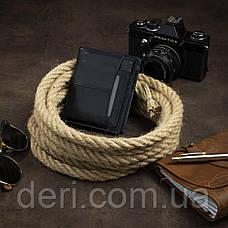 Гаманець для чоловіків чорний, фото 3