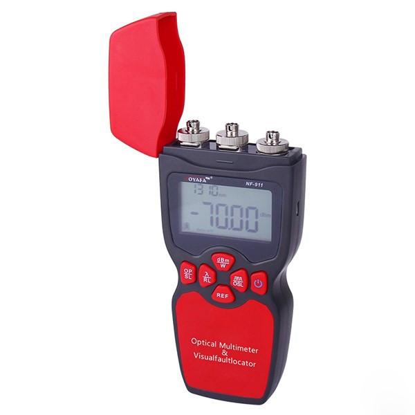 Оптичний мультиметр (випромінювач вимірювач оптичної потужності, VFL) NOYAFA NF-911C