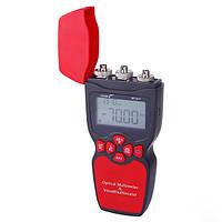 Оптичний мультиметр (випромінювач вимірювач оптичної потужності, VFL) NOYAFA NF-911C, фото 1