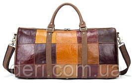 Дорожная сумка Crazy 14779 Vintage Разноцветная, Коричневый