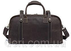 Дорожная сумка Crazy 14895 Vintage Серо-коричневая, Коричневый