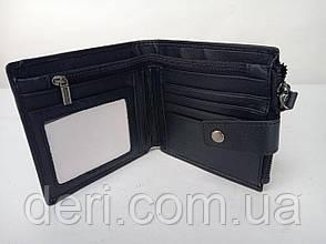 Гаманець чоловічий функціональний Vintage чорний, фото 2