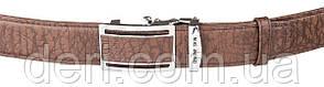 Ремінь-автомат чоловічий Accessory Collection 18139 з натуральної шкіри Коричневий, Коричневий, фото 2