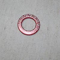 Люверсы афины красный 35мм