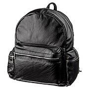 Рюкзак SHVIGEL 11260 кожаный Черный, Черный