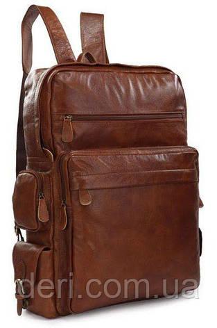 Рюкзак Vintage 14156 з шкіри Коричневий, Коричневий, фото 2