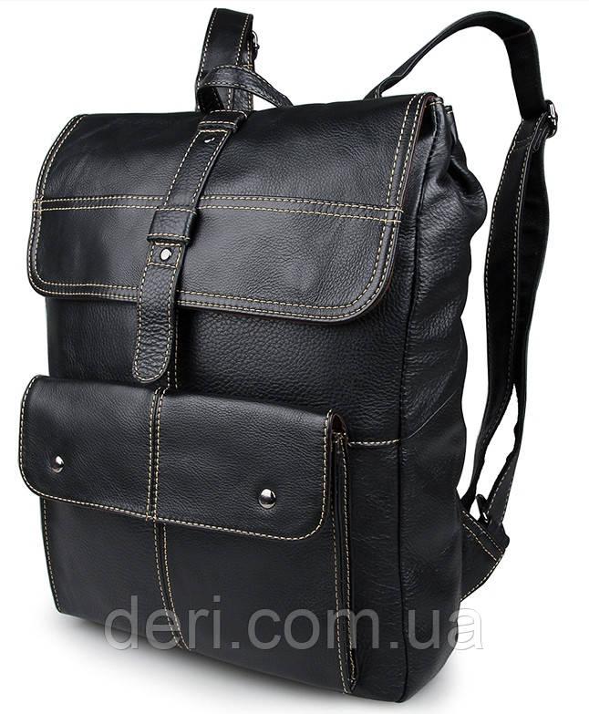 Рюкзак Vintage 14377 Чорний, Чорний