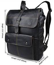 Рюкзак Vintage 14377 Чорний, Чорний, фото 2